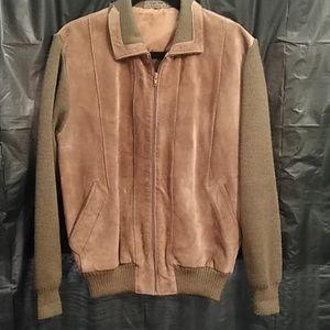 Eleven Sixty Six  leather full zip Jacket.